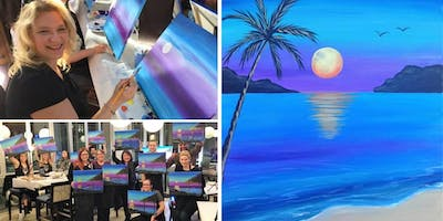 Sunset Dream Painting Event at Roy's La Jolla