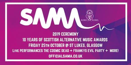 Scottish Alternative Music Awards 2019 Ceremony tickets