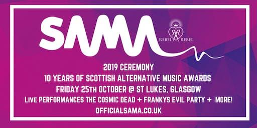 Scottish Alternative Music Awards 2019 Ceremony