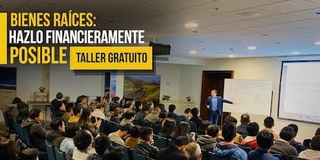 CONFERENCIA GRATUITA Bienes Raíces: Hazlo Financieramente Posible entradas