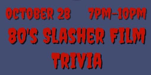 80's Slasher Film Trivia Night at Dave & Buster's Va Beach
