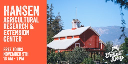 Hansen Agricultural Research & Extension Center - Wagon Tours