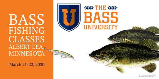 The Bass University Fishing Classes - Albert Lea, Minnesota