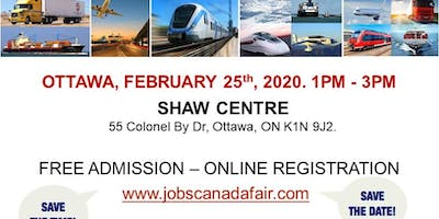 Ottawa Transportation Profession Job Fair - February 25th, 2020