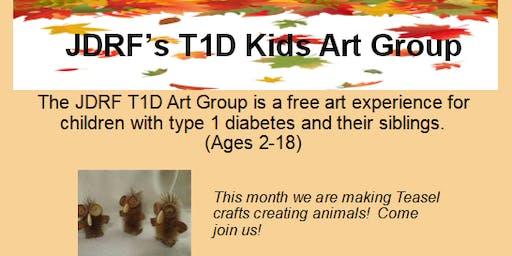 JDRF T1D Kids Art Group