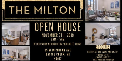 The Milton Open House
