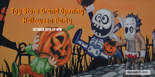 Grand Opening Halloween Party
