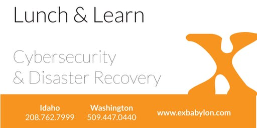 Lunch & Learn - Sandpoint - Cybersecurity Planning