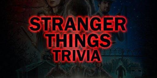 Stanger Things Trivia Night