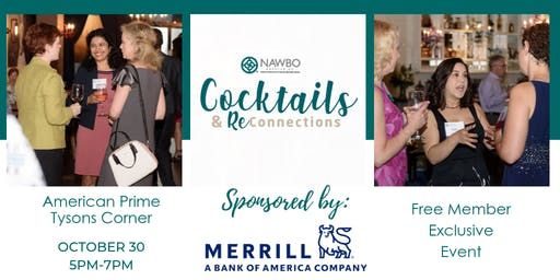 Cocktails & ReConnect sponsored by Merrill Lynch