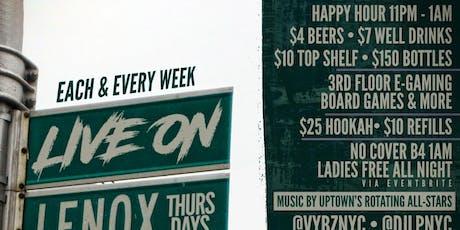LIVE ON LENOX THURSDAYS  tickets