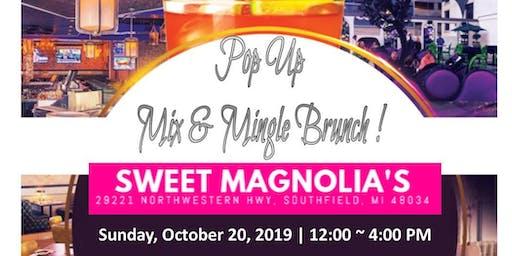 POP UP Mix & Mingle Brunch!
