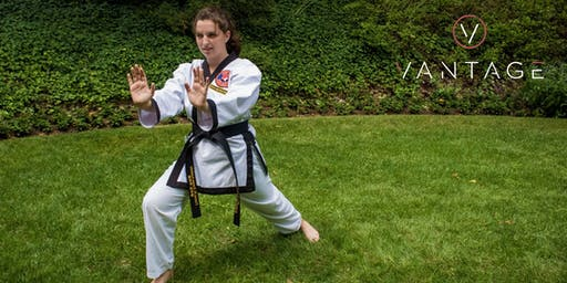 Self Defense Class at Vantage