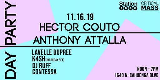 DAY PARTY: Anthony Attalla + Hector Couto