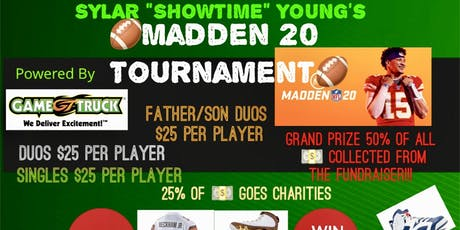 Sylar's Jordans & Jerseys Mini Madden Tournament & Tailgating Party  tickets