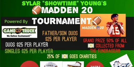 Sylar's Jordans & Jerseys Mini Madden Tournament & Tailgating Party