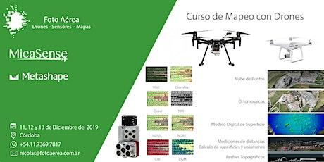 Curso de Mapeo con Drones en Córdoba entradas
