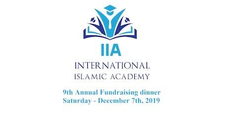 International Islamic Academy 9th Annual Fundraising Dinner 2019 tickets