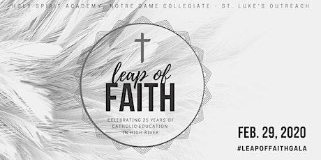 Leap of Faith Gala tickets