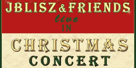 JBlisz & Friends live in Christmas Concert Tickets