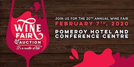 20th Annual Wine Fair & Auction tickets