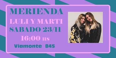 MERIENDA LULI Y MARTI