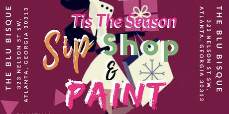 Sip Shop & Paint tickets