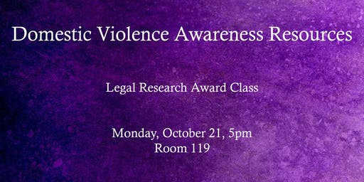 Domestic Violence Awareness Resources