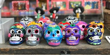 Make Calaveras (Sugar Skulls) for Dìa de Los Muertos  | Volunteer for MAH tickets