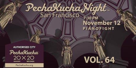 PechaKucha San Francisco presents 'FEAR' (Volume 64) tickets