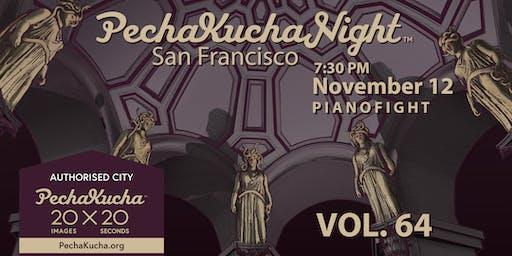 PechaKucha San Francisco presents 'FEAR' (Volume 64)