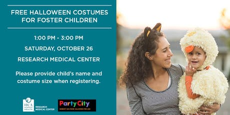 Free Halloween Costumes for Foster Children tickets
