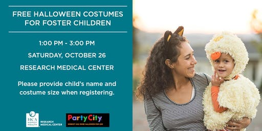 Free Halloween Costumes for Foster Children