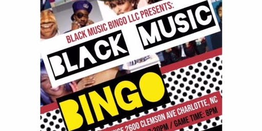 Black Music Bingo!