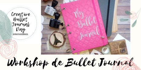 Workshop de Bullet Journal com dicas de Lettering - Creative Bullet Journal ingressos