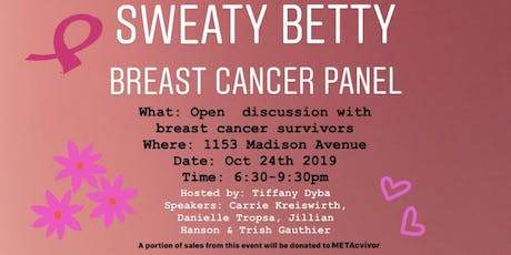 Wellness: Breast Cancer Awareness Panel tickets