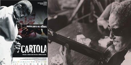 Ciclo de Cine Música Popular Brasileña  - 16 Oct. Cartola entradas