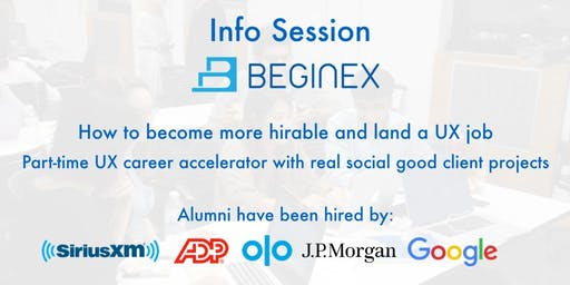 How to Become a UX Designer aka Beginex Info Session w/ ADP & Olo UX Pros