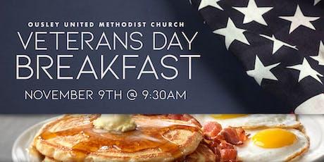 Veterans Day Breakfast tickets
