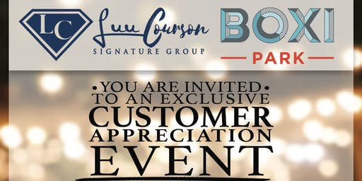 Luu Courson Customer Appreciation  Party
