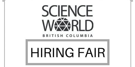 Vancouver Science World Hiring Fair tickets