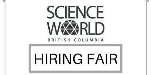 Vancouver Science World Hiring Fair