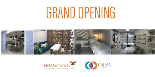 Grand Opening of Brandwein Nutrition and Calma Care by Yohi