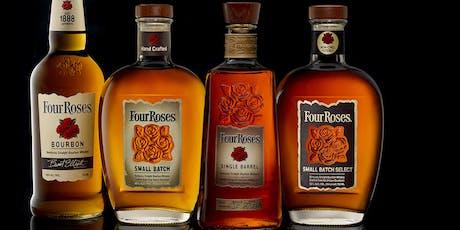 Four Roses Bourbon Whiskey Tasting tickets