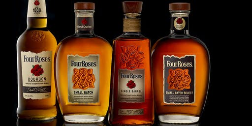 Four Roses Bourbon Whiskey Tasting