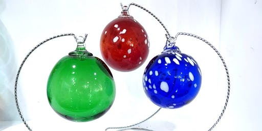 Blow Your Own Glass Ornament - Friday, November 8 at 1:00pm