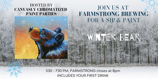 Winter Bear Paint & Sip @ Farmstrong