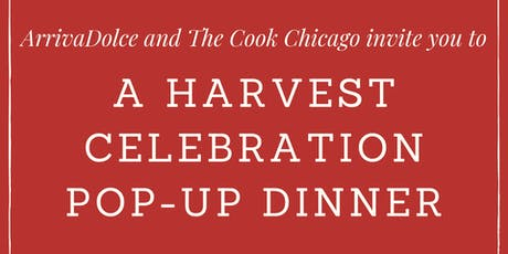 A Harvest Celebration Pop-Up Dinner tickets