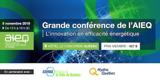 AIEQ - Grande conférence à Québec