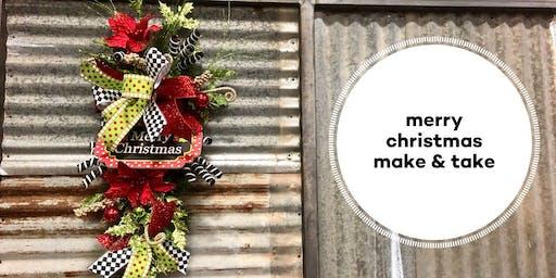 Merry Christmas Make and Take